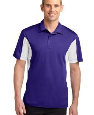 Sport Tek Side Blocked Micropique Sport Wick Polo ST655 Catalog