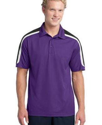 NEW Sport Tek Tricolor Shoulder Micropique Sport Wick Polo ST658 Catalog
