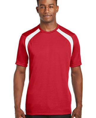 Sport Tek Dry Zone153 Colorblock Crew T478 Catalog