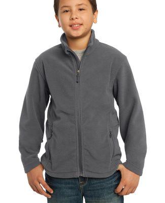 Port Authority Youth Value Fleece Jacket Y217 Iron Grey