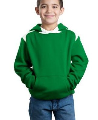 Sport Tek Youth Pullover Hooded Sweatshirt with Contrast Color Y264 Catalog