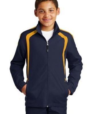 Sport Tek Youth Colorblock Raglan Jacket YST60 Catalog
