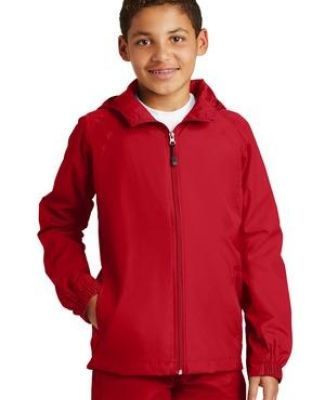 Sport Tek Youth Hooded Raglan Jacket YST73 Catalog