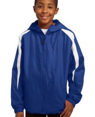 Sport Tek Youth Fleece Lined Colorblock Jacket YST81 Catalog