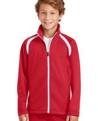 Sport Tek Youth Tricot Track Jacket YST90 Catalog