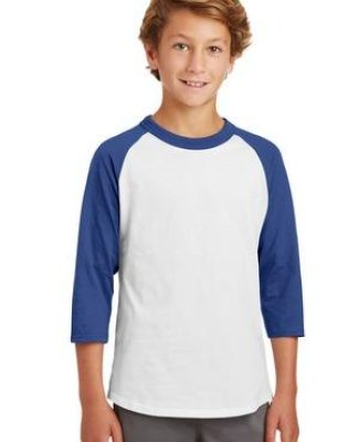 Sport Tek Youth Colorblock Raglan Jersey YT200 Catalog