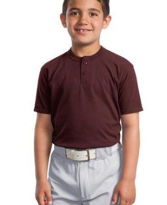 Sport Tek Youth Short Sleeve Henley YT210 Catalog