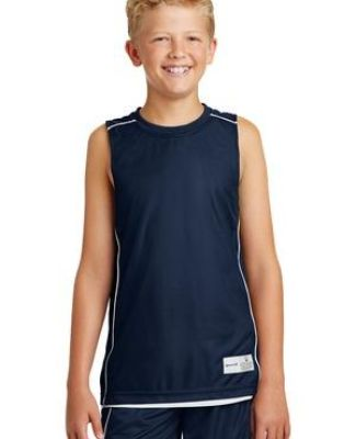 Sport Tek Youth PosiCharge Mesh153 Reversible Sleeveless Tee YT555 Catalog