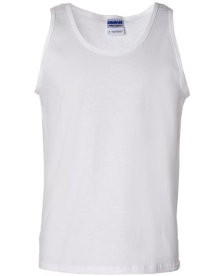 2200 Gildan Ultra Cotton Tank Top WHITE