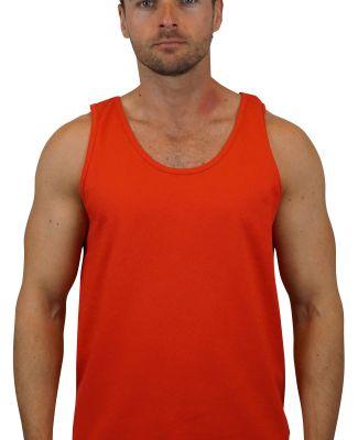 2200 Gildan Ultra Cotton Tank Top RED