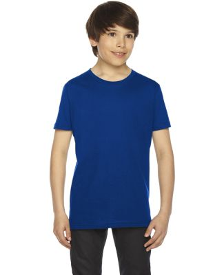 2201 American Apparel Unisex Youth Fine Jersey S/S LAPIS