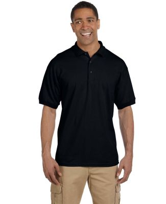 Gildan 3800 Ultra Cotton Pique Knit Sport Shirt BLACK