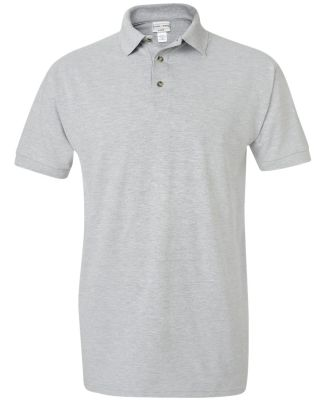 6002 Cotton Deluxe by Anvil Pique Sportshirt HEATHER GREY