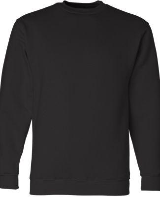1102 Bayside Fleece Crew Neck Pullover S - 5XL  Black