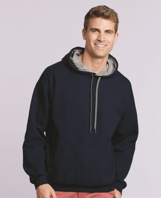185C00 Gildan Adult Heavy BlendContrast Hooded Sweatshirt Catalog