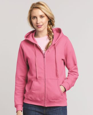 18600FL Gildan Missy Fit Heavy BlendFull-Zip Hooded Sweatshirt Catalog