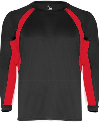 2154 Badger Youth Performance Long-Sleeve Hook Athletic Tee Catalog
