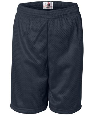2207 Badger Youth Mesh/Tricot 6-Inch Shorts Navy