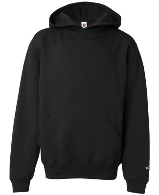 2254 Badger Youth Hooded Sweatshirt Black