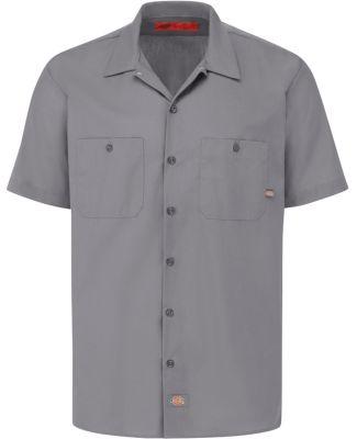 Dickies LS535 Short Sleeve Permanent Press Poplin Work Shirt Catalog