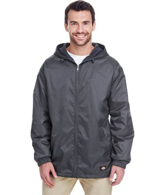 33237 Dickies Adult Fleece-Lined Ripstop Jacket CHARCOAL