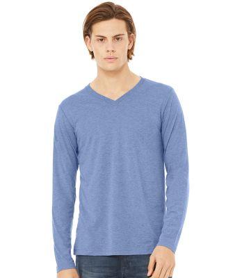 BELLA+CANVAS 3425 Mens Tri-Blend Long Sleeve V-Neck T-shirt Catalog