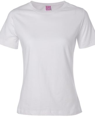 3580 LA T Ladies' Combed Ring-Spun T-Shirt WHITE