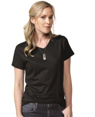 3587 LA T Ladies' V-Neck T-Shirt Catalog
