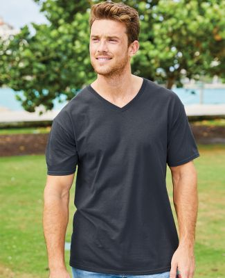 3930V Fruit of the Loom Adult Heavy Cotton HDV-Neck T-Shirt Catalog
