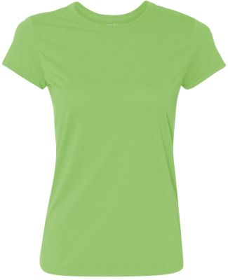 42000L Gildan Ladies' Core Performance T-Shirt LIME