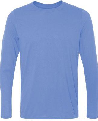 42400 Gildan Adult Core Performance Long-Sleeve T- CAROLINA BLUE