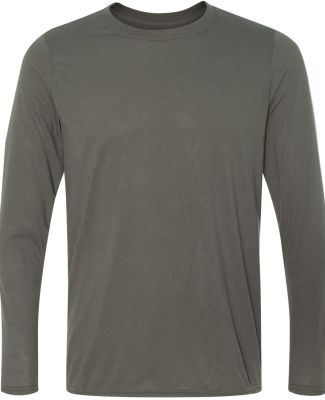 42400 Gildan Adult Core Performance Long-Sleeve T- CHARCOAL