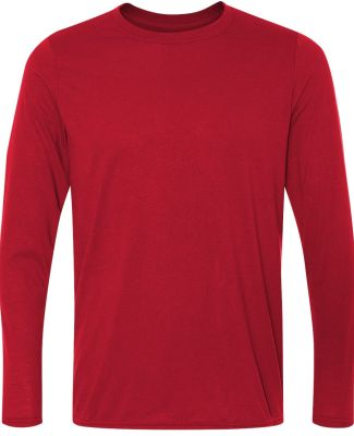 42400 Gildan Adult Core Performance Long-Sleeve T- RED