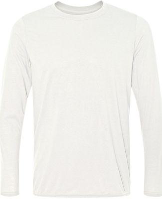 42400 Gildan Adult Core Performance Long-Sleeve T- WHITE