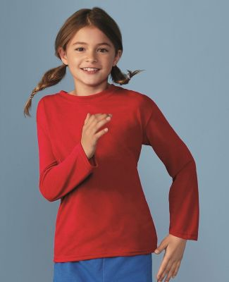 42400B Gildan Youth Core Performance Long-Sleeve T-Shirt Catalog