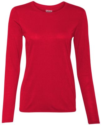 42400L Gildan Ladies' Core Performance Long Sleeve RED