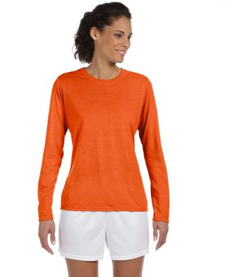 42400L Gildan Ladies' Core Performance Long Sleeve ORANGE
