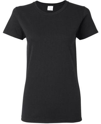 5000L Gildan Missy Fit Heavy Cotton T-Shirt BLACK
