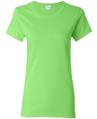 5000L Gildan Missy Fit Heavy Cotton T-Shirt LIME