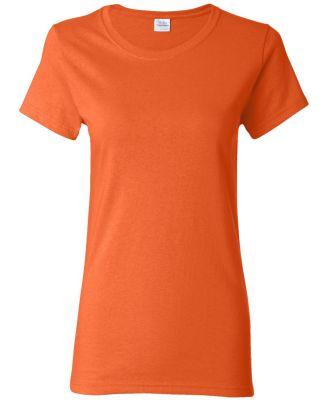 5000L Gildan Missy Fit Heavy Cotton T-Shirt ORANGE