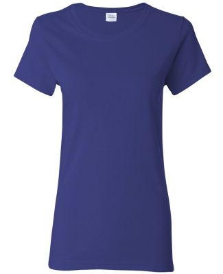 5000L Gildan Missy Fit Heavy Cotton T-Shirt COBALT