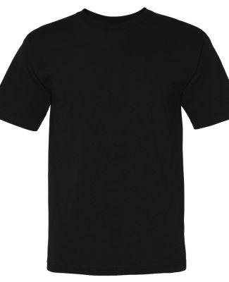 5040 Bayside Adult Short-Sleeve Cotton Tee Black