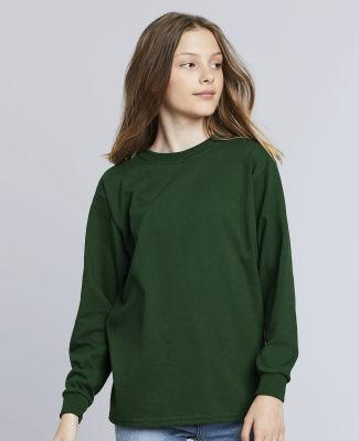 5400B Gildan Youth Heavy Cotton Long Sleeve T-Shirt Catalog