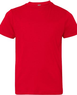 6101 LA T Youth Fine Jersey T-Shirt RED