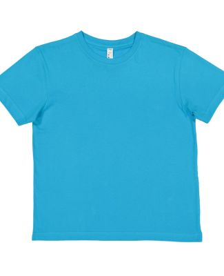 6101 LA T Youth Fine Jersey T-Shirt TURQUOISE