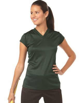 6162 Badger Solid Color Cap Sleeve Ladies Jersey Catalog