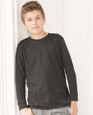 6201 LA T Youth Fine Jersey Long Sleeve T-Shirt Catalog
