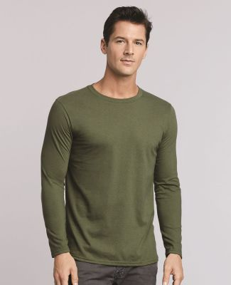 64400 Gildan Adult Softstyle Long-Sleeve T-Shirt Catalog