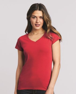 64V00L Gildan Junior Fit Softstyle V-Neck T-Shirt Catalog