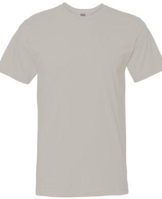 6901 LA T Adult Fine Jersey T-Shirt SILVER